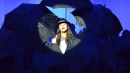 Singin' in the Rain at this year's Ipswich Gang Show. Pictures: Zoe Burgess