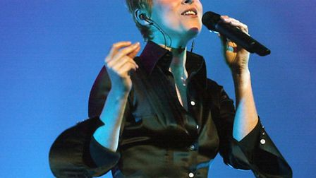 Lisa Stansfield on stage in Ipswich.Picture by Jerry Turner.