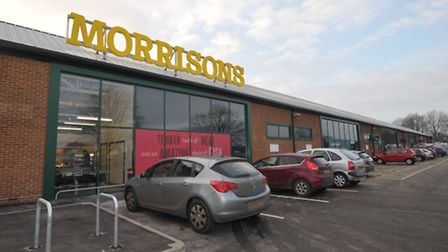 Morrisons Hadleigh store
