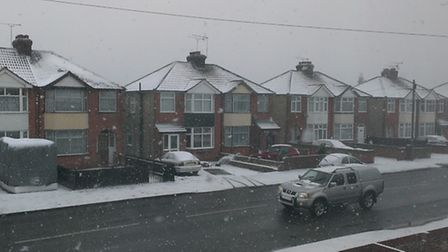 Lee Markwell took this image from his window in Landseer Road, Ipswich