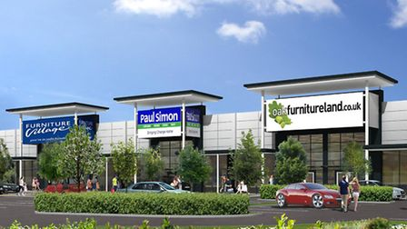 An artist's impression of what Futura Park Phase 2 will look like.
