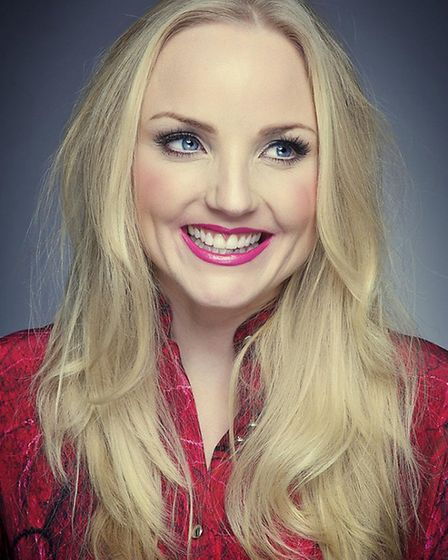 West End star Kerry Ellis shared the stage with the Wattisham Military Wives Choir at the New Wolsey
