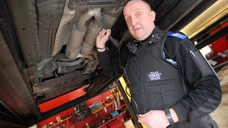 Officers from the Babergh West Safer Neighbourhood Team (SNT) will be clamping down on catalytic con