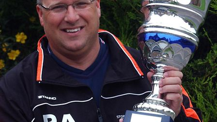 Rick Andrews, who has been appointed joint interim manager of Stowmarket Town with Ricky Licence