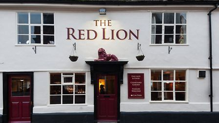 The new-look Red Lion in Woodbridge