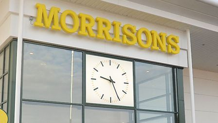 The Morrisons store in Stowmarket