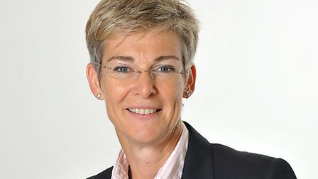 Sarah Evans, the new chairman of Ipswich Building Society