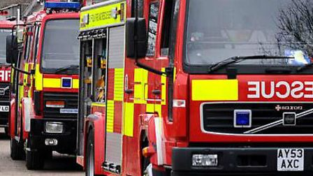 Firefighters have attened a gas leak