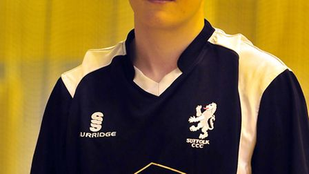 Sasha Ward, who is unavailable for Suffolk's match on Sunday