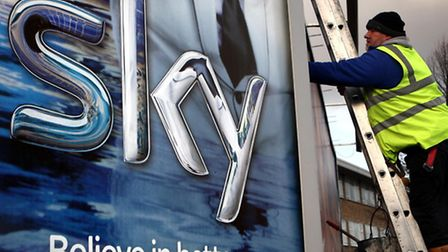 BSkyB today said that ooperating profits increased 9% to £994million in the nine months to March 31
