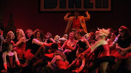 DANCE WITH THE DEVIL: Ipswich Operatic and Dramatic Society's production of Witches of Eastwick at T