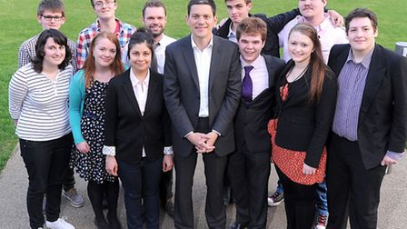Former Foreign Secretary David Miliband spoke at the Colchester Labour Party Gala Dinner at the Firs