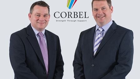 Peter Tickner, left, and Paul Lough of Corbel Solutions, formerly known as Getech Solutions