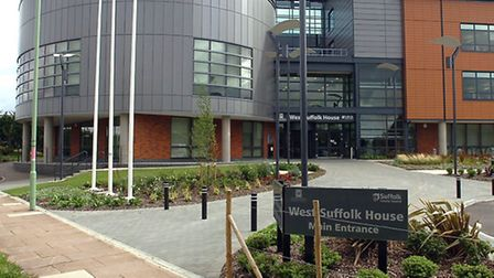 West Suffolk House in Bury, the Council Public Services Village.