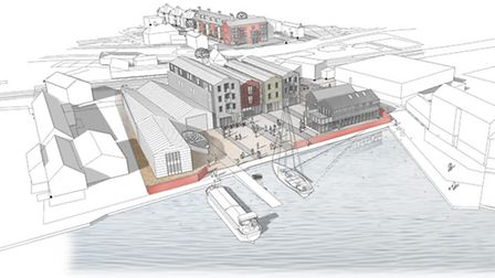 Plans for the Whisstocks boatyard and Nunns Mill sites in Woodbridge have been handed to Suffolk Co