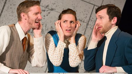 Parkway Dreams with Barnaby Southgate, Laura Corbett, Harry Waller. An Eastern Angles production