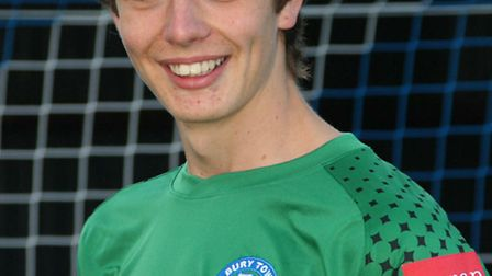 Former Bury Town goalkeeper Nick Pope, pictured two years ago when he signed for Charlton Athletic