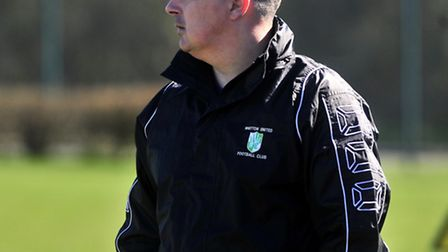 Whitton United manager Paul Bugg