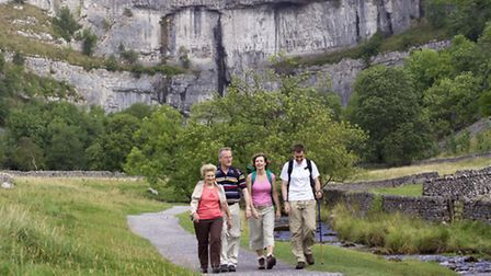 Walking in the Yorkshire Dales