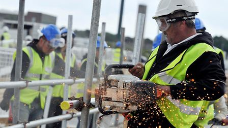 Construction workloads in the East of England have risen for a second consecutive quarter, says RICS