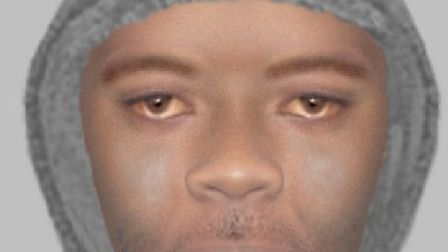 Detectives have released an Efit image of a man wanted in connection with an attempted robbery at a