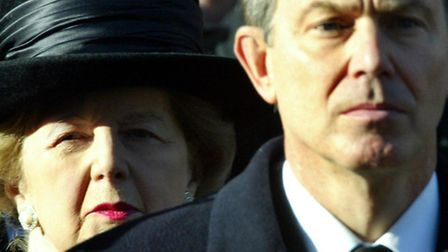 CHANGING FACE: Without Baroness Thatchers dominance of British politics the Labour party would not