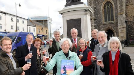A book has been written and a beer is being brewed to commemorate the statue of Thomas Gainsborough