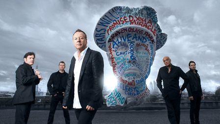 Simple Minds come to the Ipswich Regent in May and Newmarket Racecourses in June