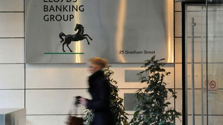 The head offices of the Lloyds Banking Group in London