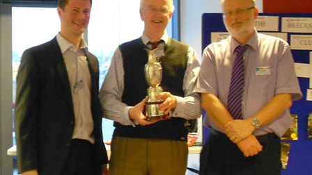 The winner team from Whittle & Co, consisting of Paul Whittle, Timothy Moriarty and Michael Greene,
