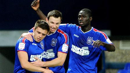 Ipswich Town entertain Crystal Palace at Portman Road Aaron Cresswell goal