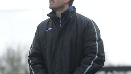 AFC Sudbury's stand-in manager Michael Shinn