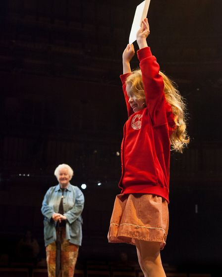 Lucy Ellinson's When I was Old/When I Get Young, opening PULSE 2013. Picture: Stewart Henley