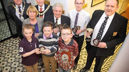 Felixstowe Sports Awards hosted by Felixstowe District Council for Sport and Recreation, presented b