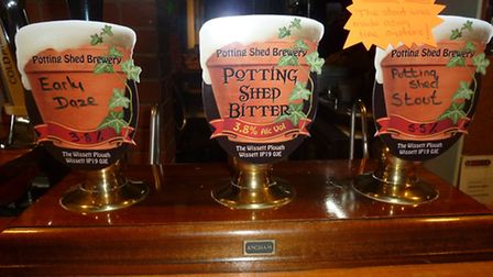 New beers at the Wissett Plough