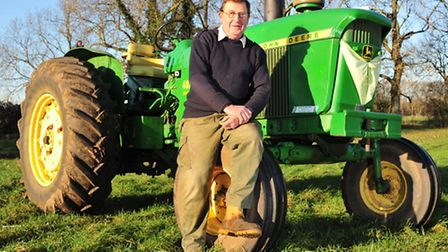 Graham Baldry is arranging the Eastern Counties Vintage tractor & heritage spectacular at the Norfol
