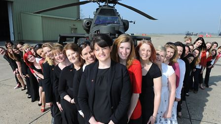 Wattisham Military Wives Choir are also on the bill