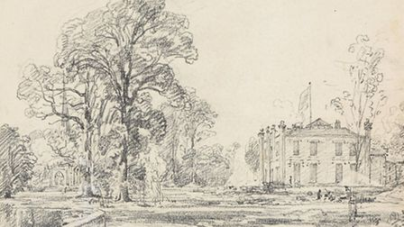 Lost Constable drawings found in America are to be sold at auction in July.