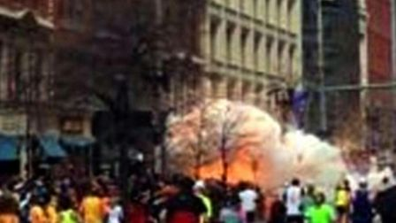 The moment the device exploded (AP Photo/WBZTV)