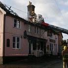 The scene at The George in Wickham Market
