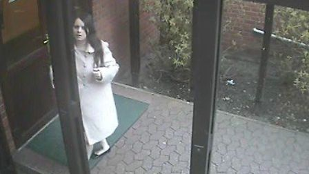 More CCTV images released by the police of Fiona Anderson on the morning of her death.