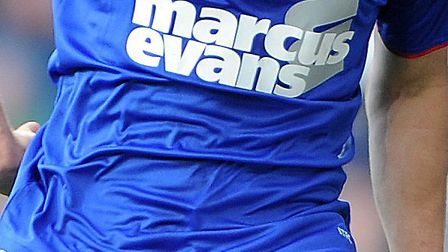 Marcus Evans has sponsored Ipswich Town's kit for the previous five years