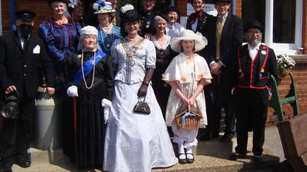 The bank holiday saw Wivenhoe celebrate the coming of the railway 150 years ago