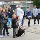 Friends and family bid an emotional farewell to the TA soldiers from Ipswich, who have set off for A