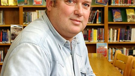 Louis de Bernieres will be at the Sir John Mills Theatre this Sunday. Picture: Niick Butcher