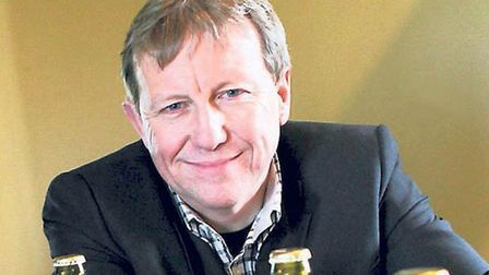Colin Cordy, managing director of St Peter's Brewery