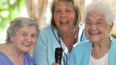 Staff and residents at Woodland Manor Care Home, Ipswich, are hoping to hit the charts after recordi