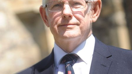 The new leader of Essex County Council David Finch