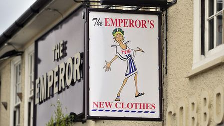 New Sign at The Emperor, Ipswich