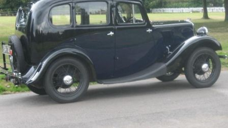 A pre-war Morris 8 like that owned by Dozey M